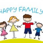 Happy family — Stock Vector #9353106