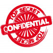 Confidential - Stock Vector