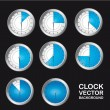 Timer clock — Stockvektor