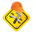Tools construction - Stock Vector