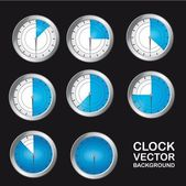 Timer clock — Vecteur