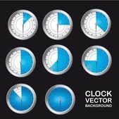 Timer klok — Stockvector