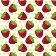 Blackberry pattern background — 图库矢量图片