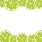 Fette di limone — Vettoriale Stock