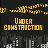 W budowie — Wektor stockowy