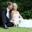 Beautiful Wedding Couple — Stock Photo #8583956