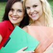 Gorgeous Student Girls - Stock Photo