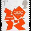London 2012 Olympic Games Postage Stamp — Stock Photo