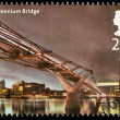 Bridges of London Postage Stamp — Stock Photo