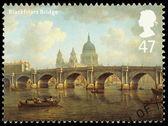 Bridges of London Postage Stamp — Stock Photo