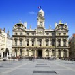 Lyon, city hall, France — Stock Photo