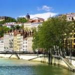 Lyon view, France — Stock Photo #10383968