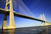 Vasco da gama bridge, lisbona, portogallo — Foto Stock