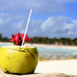 Coconuts on the beach — Stock Photo #10567396