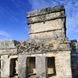 Mayan ruins of Tulum Mexico - Stock Photo