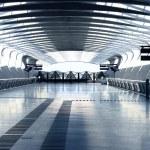 Modern architecture hall — Stock Photo #8403841