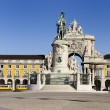 Stock Photo: Arch of augustin lisbon