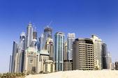 Dubai city, Marina District — Stock Photo