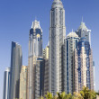 Dubai city, Marina District — Stock Photo