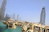 Dubai city, vereinigte arabische emirate — Stockfoto