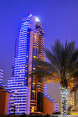 Dubaï by night — Stock Photo