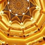 Emirates Palace in Abu Dhabi — Stock Photo