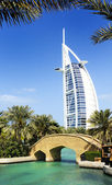 Burj Al Arab and Madina Jumeirah — Stock Photo