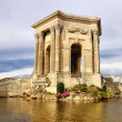 Arc de Triomphe, in Peyrou Garden, Montpellier - Stock Photo