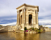 Arc de Triomphe, in Peyrou Garden, Montpellier — Stock Photo