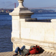 Desilusion in Lisbon — Stock Photo