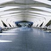 Modern architecture hall — Stock Photo
