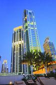 Dubaï by night — Stock Photo