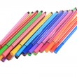 Many Colorful stationery of an assortment on a table. — Stock Photo #9267649