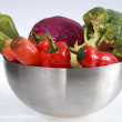 Colorful vegetable arrangement - Foto de Stock