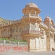 Temples in Galtaji,  Rajasthan, Jaipur, — Stock Photo