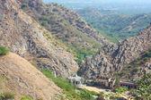горы возле храма обезьян — Стоковое фото