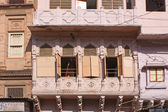 Streets and buildings of Jaipur — Stock Photo