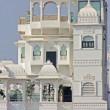 Beautiful building on the Lake in Udaipur - Stockfoto