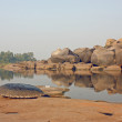 Tungabhadra river - Stock Photo