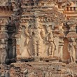 Detail of Krishntemple, Hampi — 图库照片 #9099809