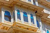 Udaipur city palace in Rajasran — Stock Photo