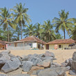 Fishermans house taken in Kerala — Stock Photo