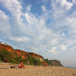 Exotic beach in Varkala — Stock Photo #9107662