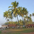 Exotic beach in Varkala — Stock Photo #9107771