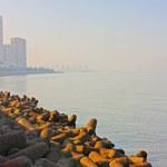 Mumbai capital of India skyline — Stock Photo
