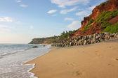 Exotic beach in Varkala — Stock Photo