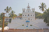 Ora Pronobis Catholic Church in Goa — Stock Photo