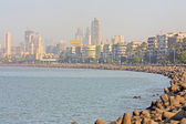 Mumbai capital of India skyline — Stock Photo