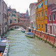 Romantic places in venice — Stock Photo #9158882