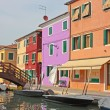 Burano (Venice island) — Stock Photo